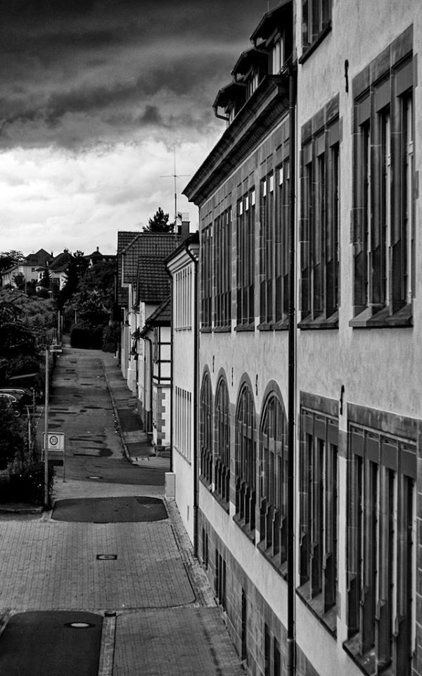 Dachzimmerfensterblick